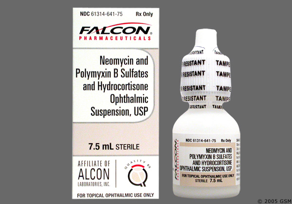 Polymyxin B Sulfate And Trimethoprim Ophthalmic Solution